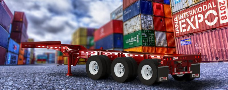 Max-Atlas Intermodal Trailers - Chassis engineered to perform